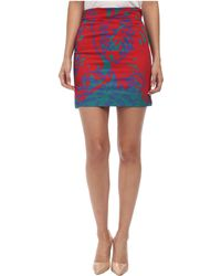 Vivienne Westwood Anglomania Mini Basic Pencil Skirt - Lyst