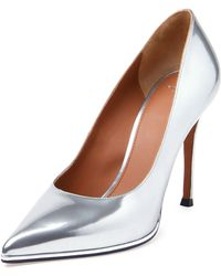 Givenchy Metallic Leather Point-Toe Pump - Lyst