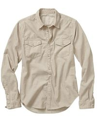 Gap Cord Flap Pocket Shirt - Lyst