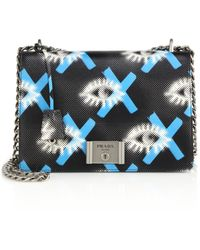prada black leather clutch - Prada Shoulder Bags | Lyst?