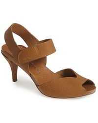 Pedro Garcia Women'S 'Monet' Leather Sandal - Lyst
