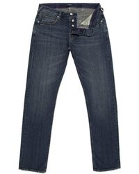 Paul Smith Straight-Fit Mid-Wash Jeans - Lyst