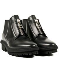 Balenciaga Black Ankle Boots - Lyst