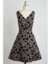 ModCloth | Sorrento Sparkle Dress | Lyst