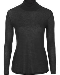 Topshop Ribbed Polo Top by Boutique - Lyst