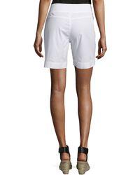 XCVI - Camarillo Zip-pocket Pull-on Shorts - Lyst