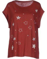 Leon & Harper T-Shirt red - Lyst