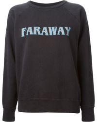 Etoile Isabel Marant East West Cotton Sweatshirt - Lyst