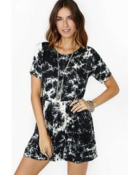 Nasty Gal Motel Penny Dress - Lyst