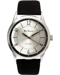 Ben Sherman R905 Silver-Tone & Black Watch - Lyst