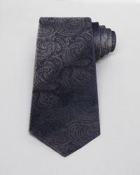 John Varvatos Luxe Paisley Classic Tie - Lyst