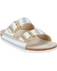 Birkenstock Stripeprint Arizona Sandals - Lyst