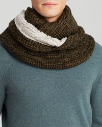 Bickley + Mitchell - Waffle Knit Infinity Scarf - Lyst