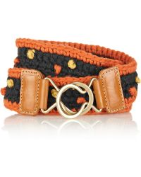 M Missoni Knitted Belt - Lyst