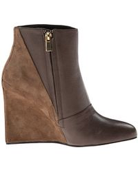 See By Chloé boots wedges wedge boots - Lyst