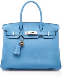 Heritage Auctions Special Collection Hermes 30Cm Blue Paradis Togo Leather Birkin - Lyst