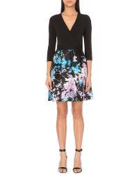 Diane von Furstenberg | Valerie Wrap-front Floral Dress | Lyst