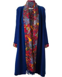 Jean Paul Gaultier Blanket Coat - Lyst