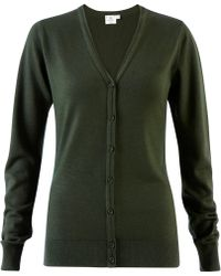 Sunspel - Women's Fine Merino V-neck Cardigan - Lyst