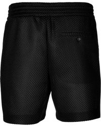 Neil Barrett Mesh Shorts - Lyst