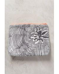 Samudra - Rippled Floral Pouch - Lyst