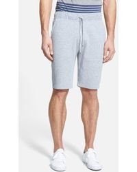Michael Kors Nylon Trim Waffle Knit Shorts - Lyst