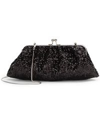 Saks Fifth Avenue Riley Sequined Convertible Clutch - Lyst