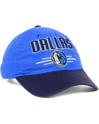 Adidas Dallas Mavericks 2t Slouch Cap - Lyst