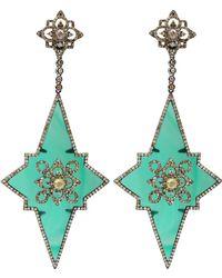 Bochic - Star Drop Earring - Lyst