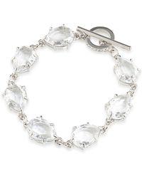 Carolee - Pink Sands Teardrop Toggle Bracelet - Lyst