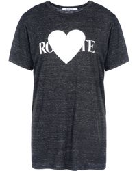 Rodarte Short Sleeve T-Shirt - Lyst