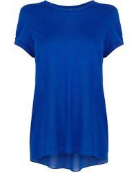 Karen Millen Oversize T-Shirt - Lyst
