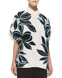 3.1 Phillip Lim Floral Embroidery Pullover - Lyst