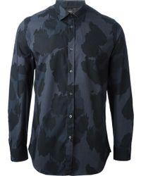 Diesel Suryan Camouflage Print Shirt - Lyst