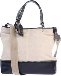 Fay Two-Tone Pattern Shoulder Bag - Lyst