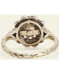 Erica Weiner - Georgian Rose Cut Diamond Cluster Ring - Lyst