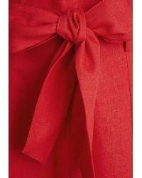 Tropical Wear - Musee Matisse Skirt In Crimson - Lyst