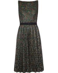 Marc Jacobs - Embellished Floral-Brocade Dress - Lyst