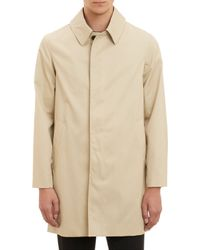 Aquascutum Beige Roadgate Raincoat - Lyst