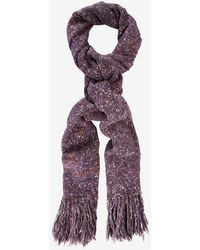 Exclusive For Intermix - Long Fringe Flecked Scarf - Lyst