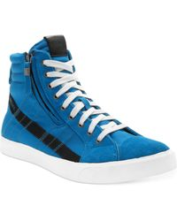 Diesel Dvellows Dstring Sneakers - Lyst