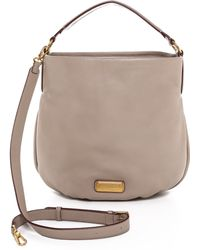 Marc By Marc Jacobs New Q Hillier Hobo - Cement - Lyst