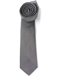 Dior Homme Micro Dot Tie - Lyst