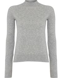 Calvin Klein Sidonia Long Sleeve Roll Neck - Lyst
