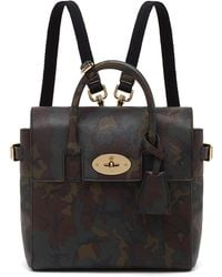Mulberry Mini Cara Delevingne Camo Bag in Khaki Mini Cara Delevingne Camo Bag in Khaki - Lyst