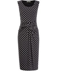 Precis Petite Polka Dot Jersey Dress - Lyst