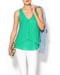 Ella Moss Stella Sleeveless Top - Lyst