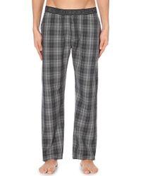 DIESEL | Checked Woven Pyjama Bottoms | Lyst