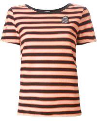 Sonia by Sonia Rykiel Striped T-Shirt - Lyst