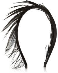 Yunotme - Lisbeth Feather Headband - Lyst